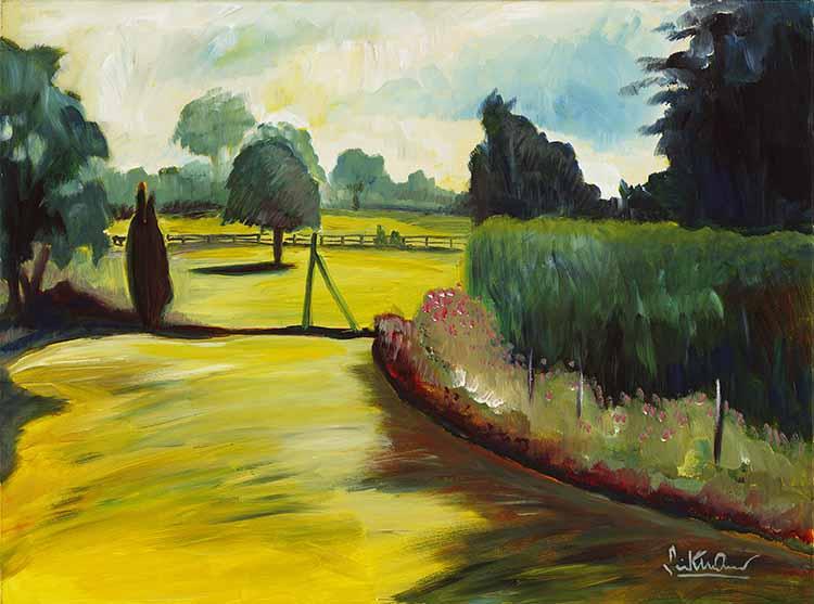 Landschaft in Suffolk
