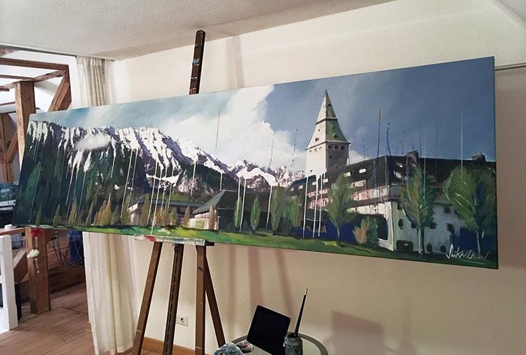 """Making of """"Schloß Elmau"""""""