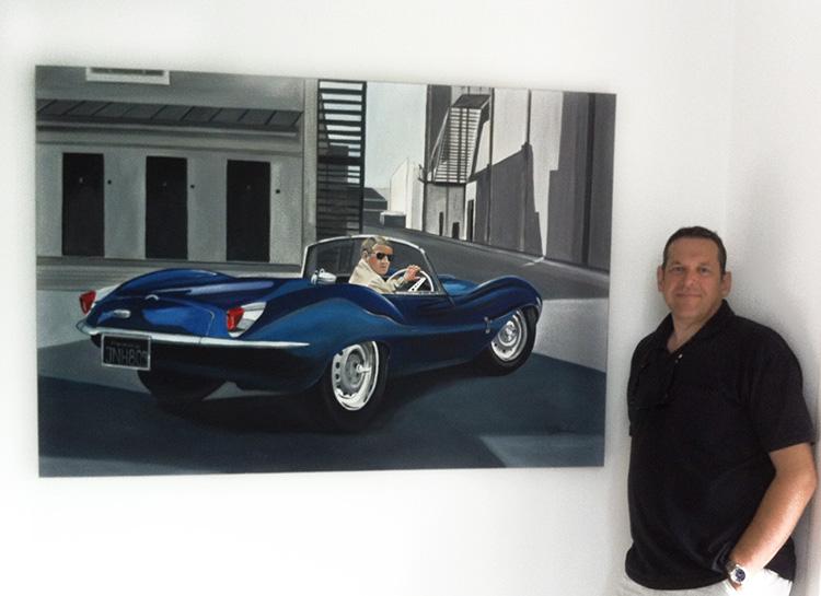 """Making of """"Steve McQueen   Blue E-Type"""""""