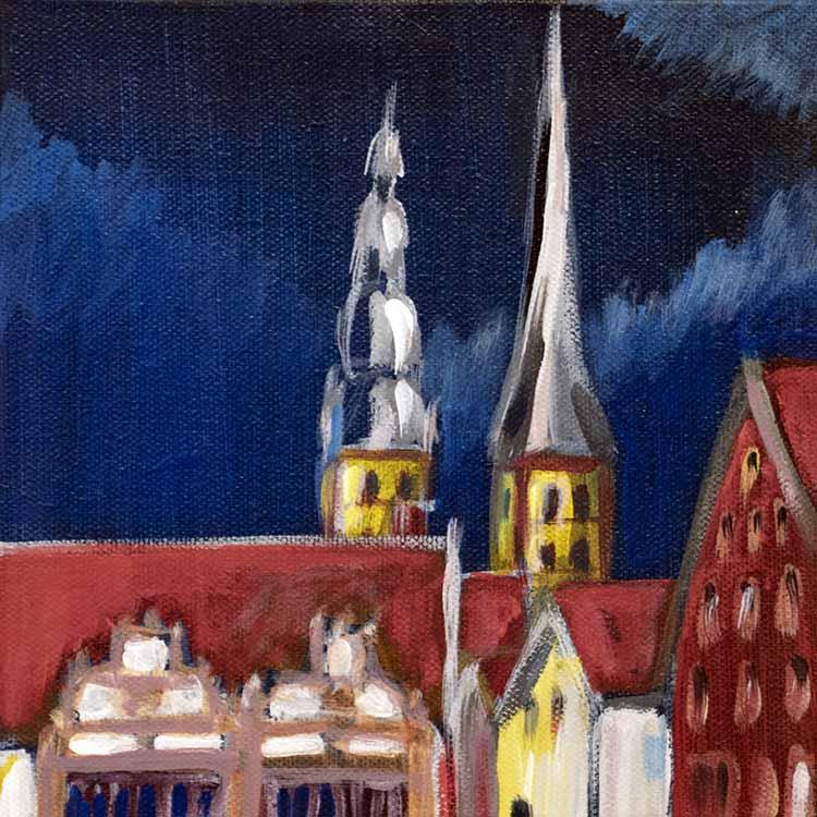 St. Nicolai Nachthimmel