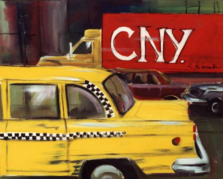 Gelbes Taxi