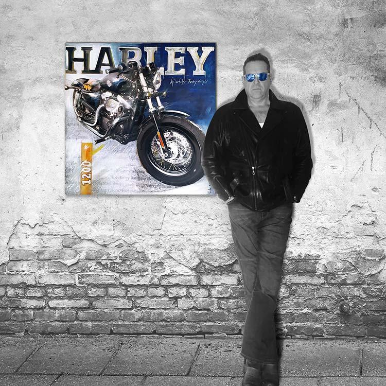 """Making of """"Harley Sportster"""""""