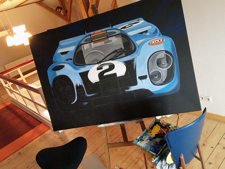 """Making of """"Porsche 917"""""""