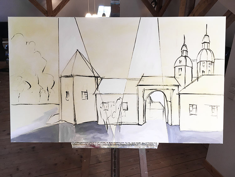 "Making of ""Schloß Neuhaus"""