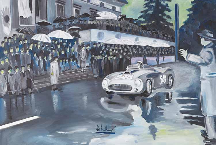 Regenrennen Mille Miglia